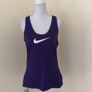 NWT! Nike pro large purple athletic tank top